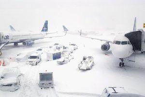 Hơn 100 chuyến bay bị hủy vì lo bão tuyết tràn vào bang Georgia, Mỹ