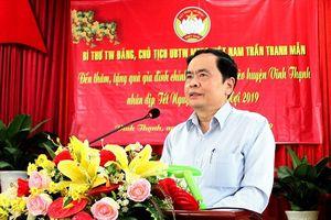 Ông Trần Thanh Mẫn chúc Tết và tặng quà gia đình chính sách, hộ nghèo tại Cần Thơ