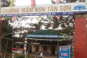 Nghệ An: Bé trai 3 tuổi tử vong trong giờ học ở trường mầm non
