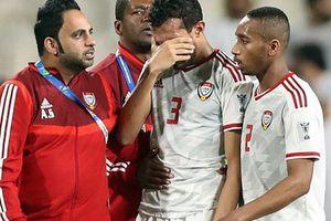 Những hình ảnh xấu xí từ cầu thủ đến fan UAE, 'vết nhơ' khó quên của giải đấu tầm cỡ châu lục