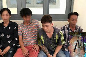 Nhóm thanh niên chống đối cảnh sát ở tiệm game bắn cá