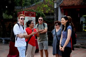 Hơn 2,4 triệu lượt khách đến Hà Nội trong tháng 1/2019