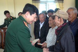 Thượng tướng Phan Văn Giang thăm và chúc Tết tại Nam Định