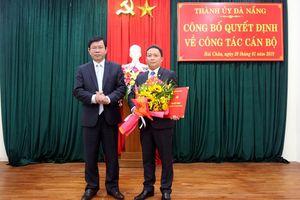 Ông Lê Tự Gia Thạnh giữ chức Phó Bí thư Thường trực Quận ủy Hải Châu
