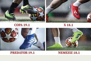 adidas Exhibit Pack – 'tuyệt chiêu' của các ngôi sao bóng đá