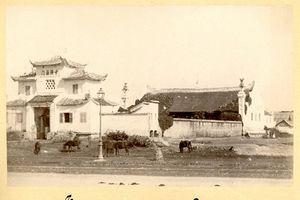 Ảnh lịch sử cực quý về chùa Báo Ân của Hà Nội xưa