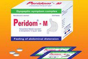 Thu hồi một loại thuốc tiêu hóa do Công ty Tenamyd nhập khẩu