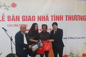Trao nhà tình nghĩa cho đôi vợ chồng nghèo ở Hà Tĩnh