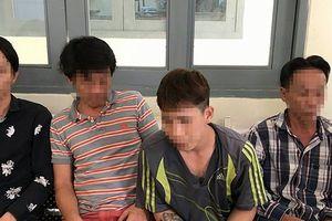 TP.HCM: 13 thanh niên phê ma túy, chống đối lại công an khi bị kiểm tra
