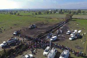 Lại nổ đường ống dẫn nhiên liệu tại Mexico