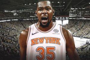 Knicks nói rằng họ sẽ có cơ hội lớn với siêu sao Kevin Durant