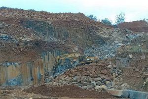 Đắk Nông: 'Hỗn loạn' tình trạng khai thác đá cây trái phép