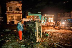 Cuba: Ít nhất 3 người thiệt mạng vì lốc xoáy bất thường ở thủ đô Havana