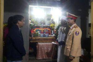 Hỗ trợ gia đình TNGT thương tâm trên QL9, Cam Lộ