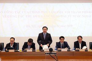 Phó thủ tướng Vương Đình Huệ: Hà Nội có thể chuyển từ thu hút FDI sang hợp tác toàn diện, phát triển