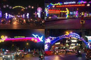 TPHCM: Khắp phố phường rực rỡ sắc màu đón Tết Kỷ Hợi