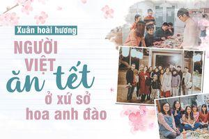 Xuân hoài hương - Kỳ 1: Người Việt ăn tết ở xứ sở hoa anh đào