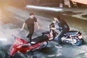 Hé lộ hình ảnh nghi phạm cứa cổ lái xe taxi trước SVĐ Mỹ Đình