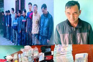 Thanh Hóa: Bắt giữ 10 đối tượng đánh liêng ăn tiền