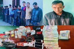 Triệt xóa sới bạc ở Thanh Hóa, bắt giữ 10 đối tượng