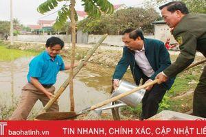 Can Lộc phát động trồng hơn 125 nghìn cây xanh dịp xuân Kỷ Hợi
