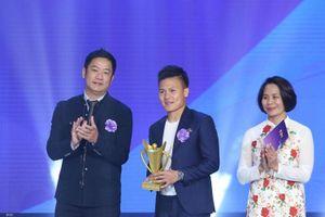 Quang Hải, Thu Thảo được vinh danh tại Cúp Chiến thắng 2018