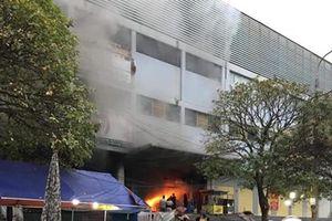 Hé lộ nguyên nhân bí ẩn gây cháy chợ lớn nhất Thái Nguyên