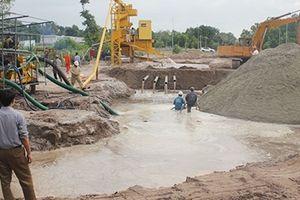 Xử lý cát biển thành cát xây dựng theo tiêu chuẩn
