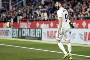 Girona 1-3 Real: Benzema đưa 'Kền kền trắng' vào bán kết Cúp nhà Vua