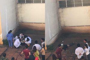 Người đàn ông nhảy từ tầng 3 bệnh viện ở Đắk Lắk