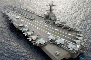 Mỹ kí hợp đồng chế tạo cùng lúc 2 tàu sân bay lớp Ford