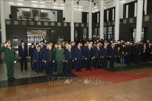 Lễ tang đồng chí Nguyễn Đức Bình