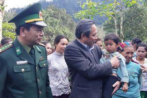 Lãnh đạo tỉnh Quảng Bình thăm, chúc tết nhân dân và cán bộ, chiến sỹ Biên phòng