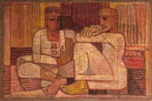 Vì sao tranh của Samir Rafi thường gắn với hình ảnh 'chó sói'?