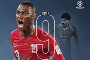 Vua phá lưới Asian Cup 2019: Almoez Ali lập kỷ lục và cú đúp danh hiệu