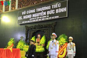 Lãnh đạo Đảng, Nhà nước viếng đồng chí Nguyễn Đức Bình