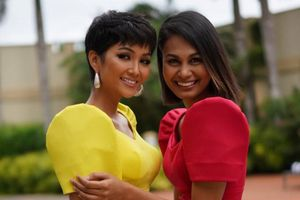 Hoa hậu Philippines thân thiết với H'Hen Niê cũng vươn lên từ túp lều