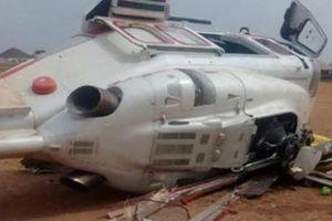 Máy bay bất ngờ lao xuống đất, Phó tổng thống Nigeria thoát chết