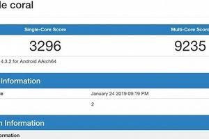 Google sản xuất thiết bị chạy chip Snapdragon 855 tên mã là Coral