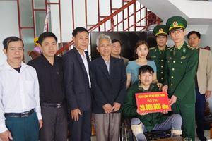 Nghệ An: Trao 100 triệu đồng hỗ trợ quân nhân có hoàn cảnh đặc biệt khó khăn