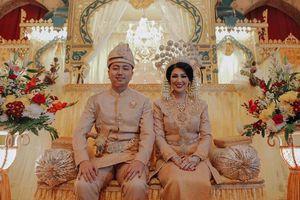 Đám cưới xa hoa của hoa hậu đẹp nhất thế giới cùng con quan chức Indonesia
