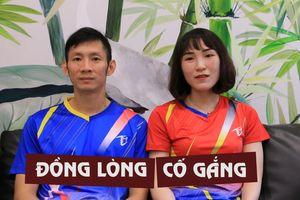 Vợ chồng Tiến Minh, Vũ Thị Trang cống hiến hết sức cho cầu lông Việt Nam