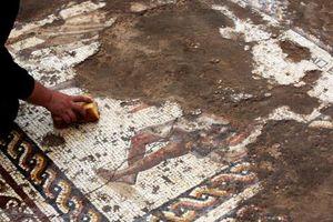 Phát lộ tranh khảm 1.700 năm tuổi ở Israel