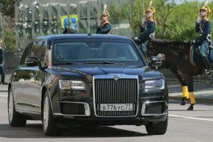 Limousine Aurus Senat của Tổng thống Nga Putin 'khủng' cỡ nào?