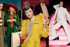Đắm mình vào không gian 'nhuốm màu' kinh điển trong chiến dịch quảng cáo Xuân Hè 2019 của Gucci