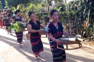 Vui Tết Aza Koonh trên dãy Trường Sơn