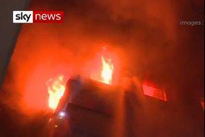 Cháy khu dân cư cao cấp ở Paris, ít nhất 8 người thiệt mạng