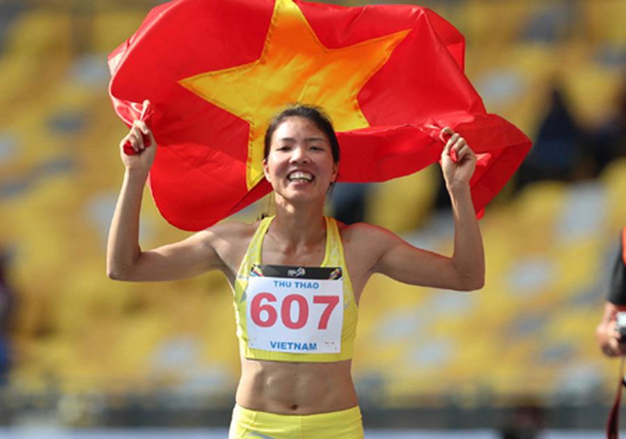 'Nữ hoàng nhảy xa' Bùi Thị Thu Thảo chúc Tết độc giả VietNamNet