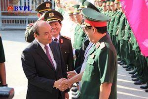 Thủ tướng Chính phủ Nguyễn Xuân Phúc thăm chúc Tết các cơ quan đơn vị TP.Đà Nẵng