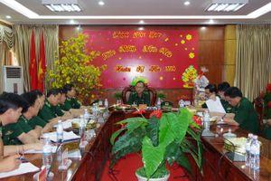 Thiếu tướng Nguyễn Hoài Phương kiểm tra công tác sẵn sàng chiến đấu tại BĐBP Bình Phước